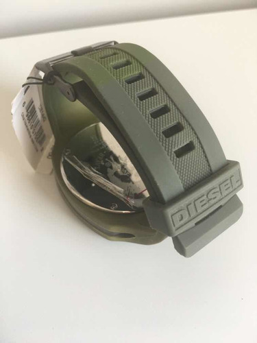 relogio masculino de pulso diesel pulseira de borracha