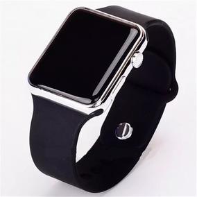 d7ae7f7ec Relógio Masculino De Pulso Digital Led Tela Quadrada