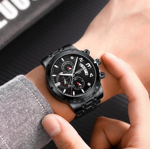 relógio masculino de pulso funcional original militar barato
