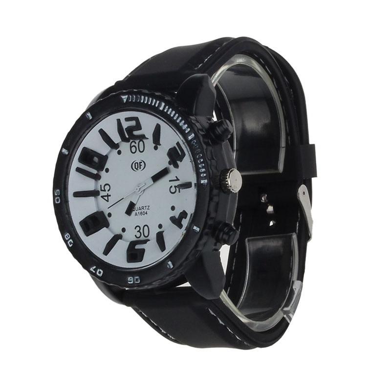 746f6e53204 relógio masculino de pulso grande preto e branco barato 12x. Carregando zoom .