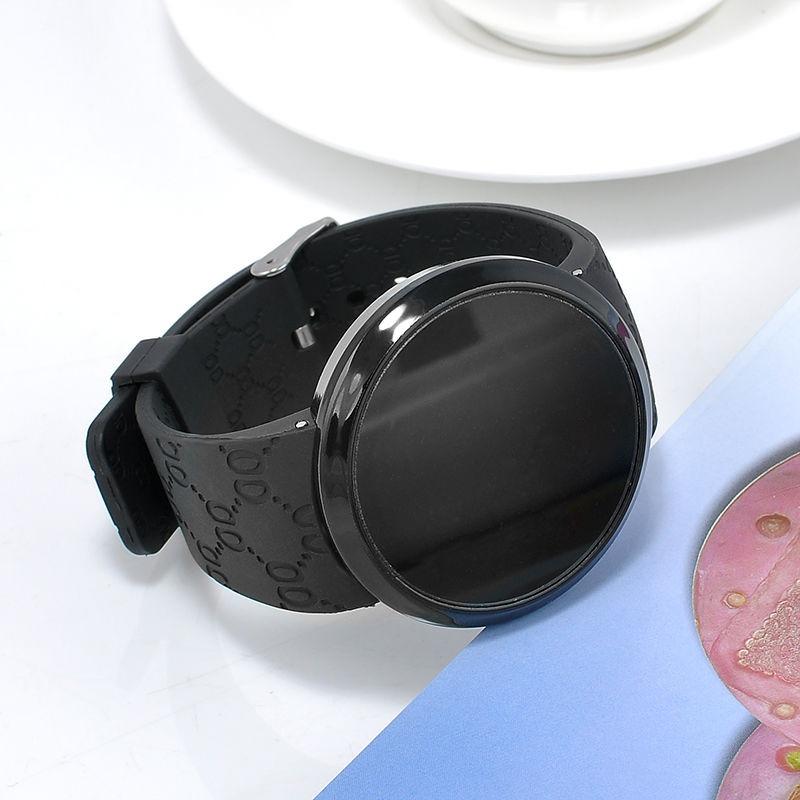 811a73c7039 relógio masculino de pulso silicone digital led touch screen. Carregando  zoom.