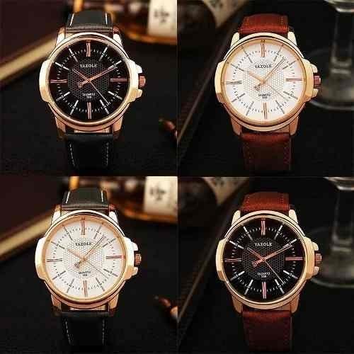 f506730cadc Relógio Masculino De Pulso Yazole 358 Pulso Barato Original - R  42 ...
