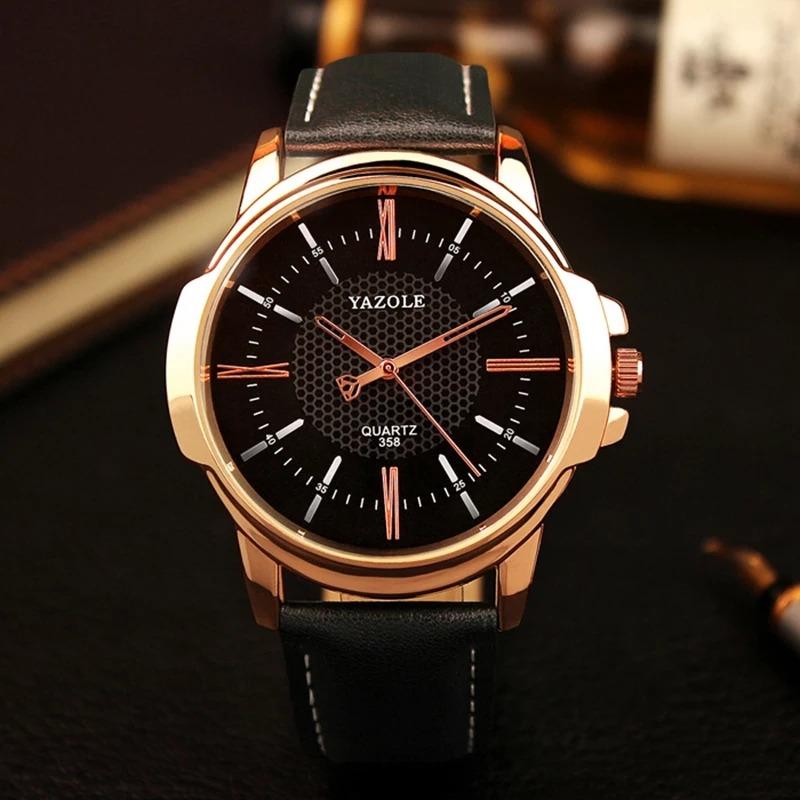 9a9de207085 Relógio Masculino De Pulso Yazole - R  59