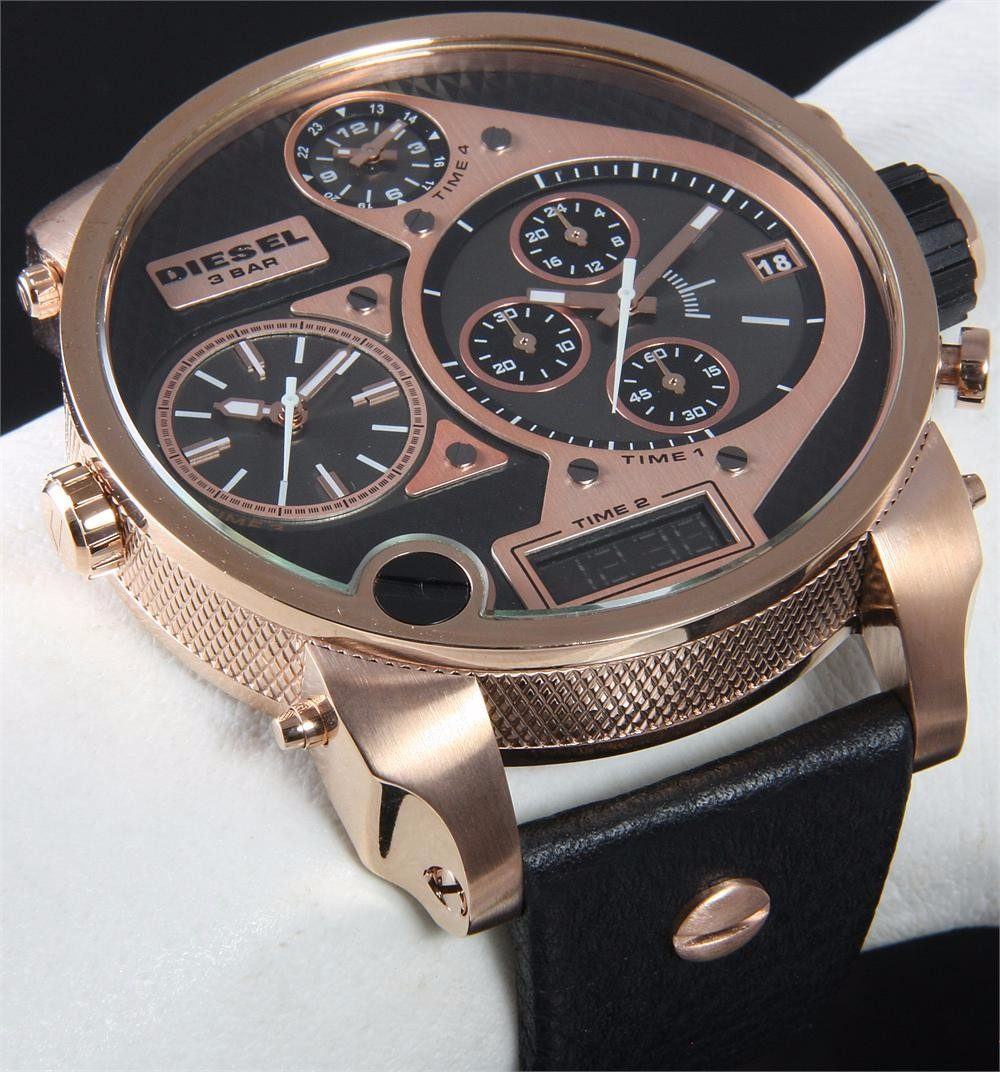 18be59d0315d8 Relógio Masculino Diesel Dz7261 100% Original Completo Caixa - R ...