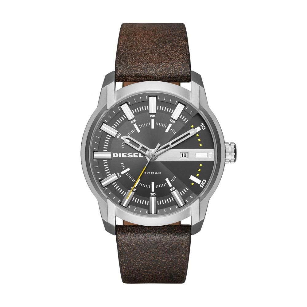 fca1d0c29d1c3 Relógio Masculino Diesel Dz1782 0cn 44mm Couro Marrom - R  805,95 em ...