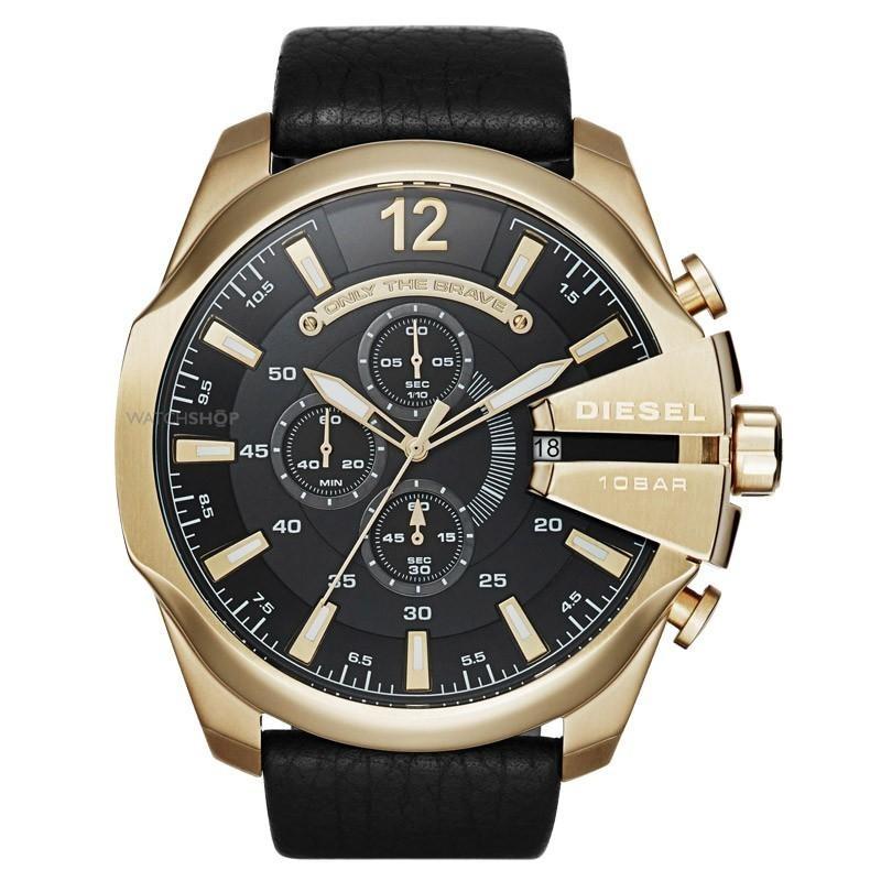 724148c7890 Relógio Masculino Diesel Dz4344 0pn 52mm Couro - R  1.152