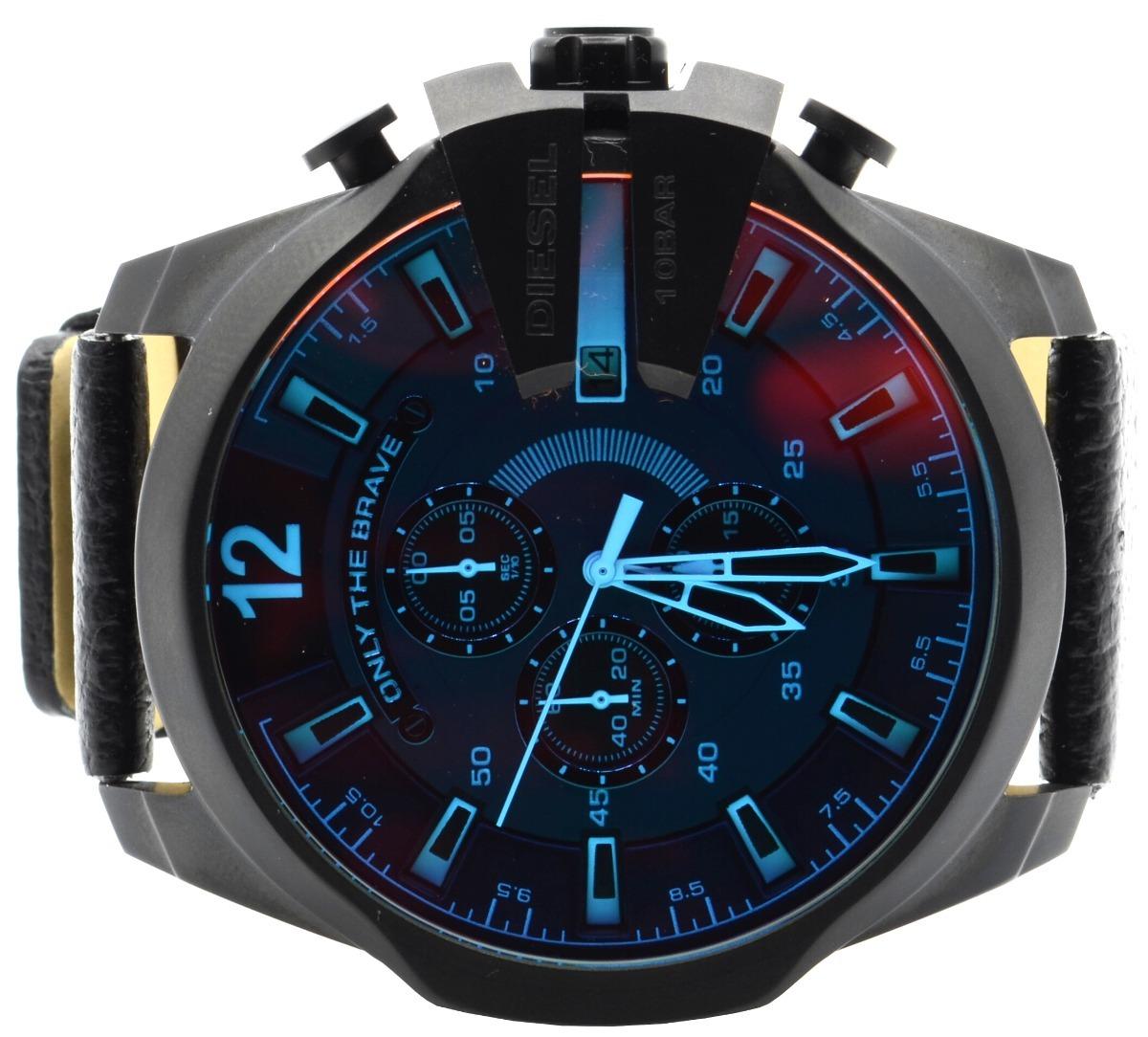 950db530acf relógio masculino diesel dz4323 preto. Carregando zoom.