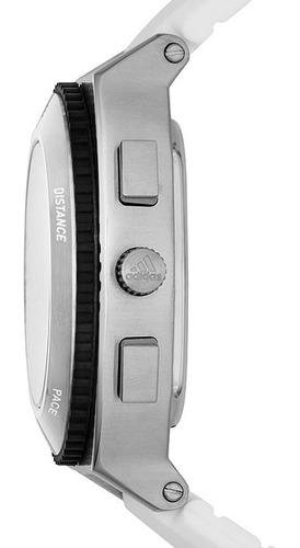 relógio masculino digital adidas performance runner branco