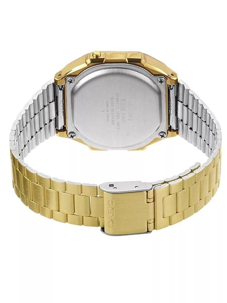 769f46886326 relógio masculino digital barato casio a-168wa-1wdf vintage. Carregando zoom .