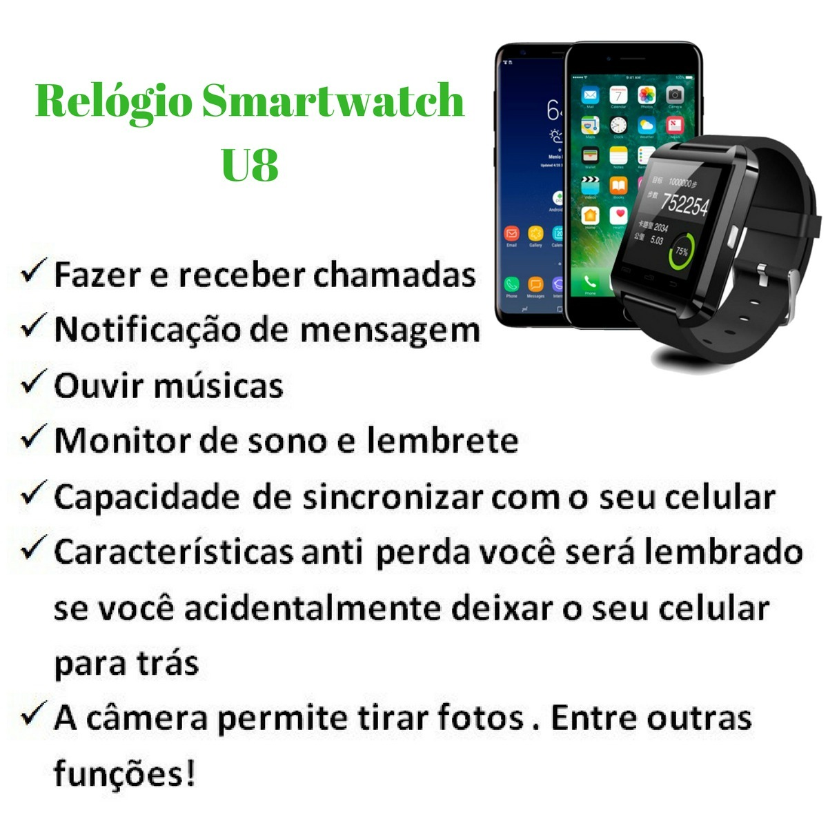b758fe5ea3279 relógio masculino digital -bluetooth android iphone oferta ! Carregando  zoom.