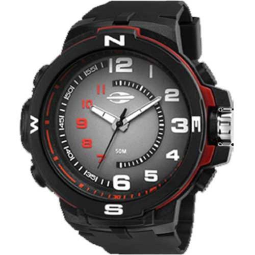 relógio masculino digital branco/preto mormaii- nfe garantia