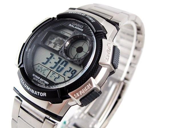 aca00bc0e12 Relógio Masculino Digital Casio Ae-1000wd-1avdf - R  312