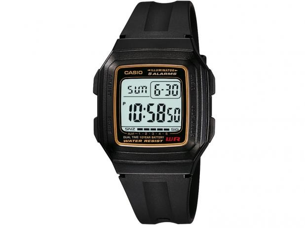 aefe662a605 Relógio Masculino Digital Casio Alarme Cronometro Calendário - R ...