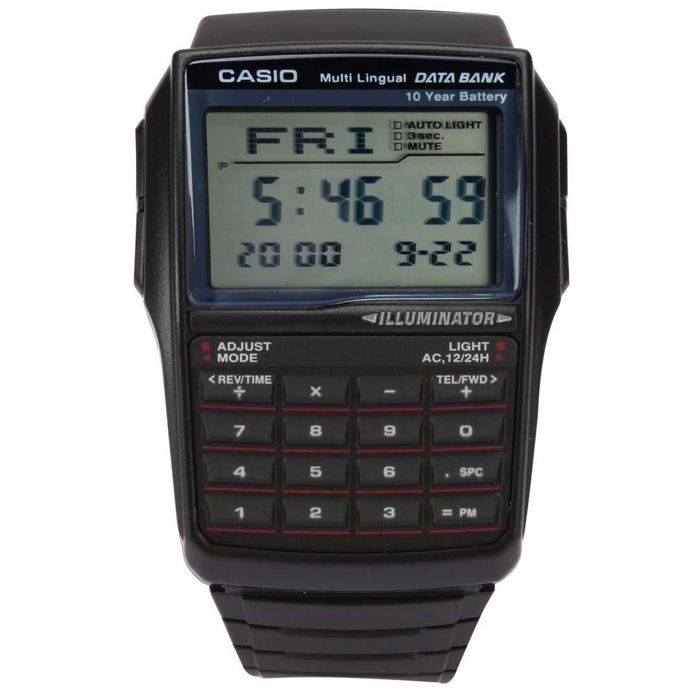 1d5934699d6 relógio masculino digital casio dbc-32-1adf - preto. Carregando zoom.
