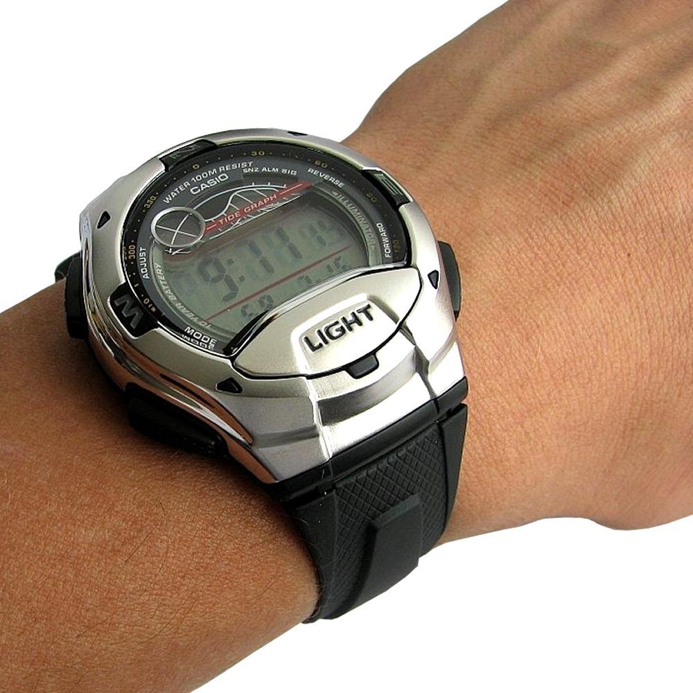 relógio masculino digital casio standard w-753-1avdf - preto. Carregando  zoom. 89943b3464