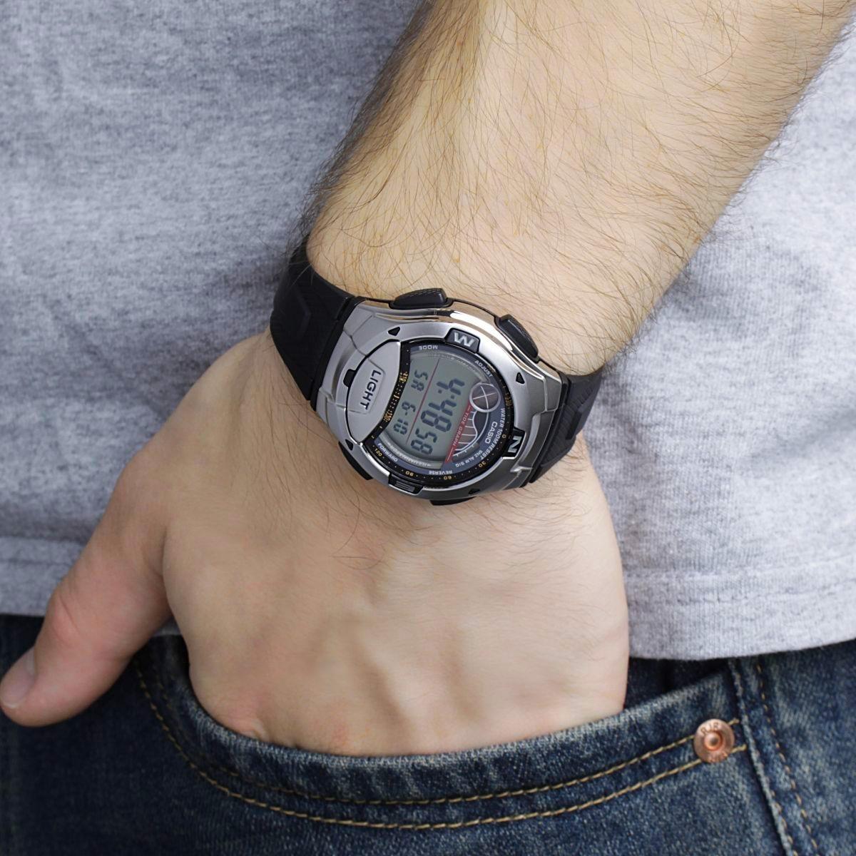 6d9cce678a572 relógio masculino digital casio standard w-753-1avdf - preto. Carregando  zoom.