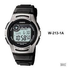 229db3a18ee Relógio Masculino Digital Casio W2131avdf - Preto - R  90