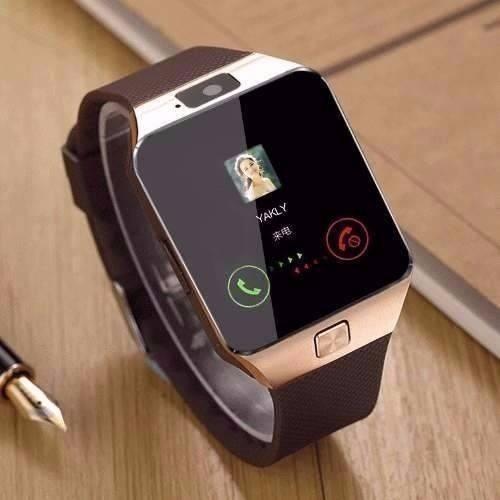 cfd733e55a6 Relógio Masculino Digital Celular Smartwatch Bluetoth Whats - R  189 ...
