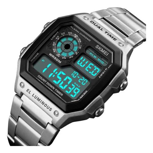 relógio masculino digital chinês barato envio imediato 1335