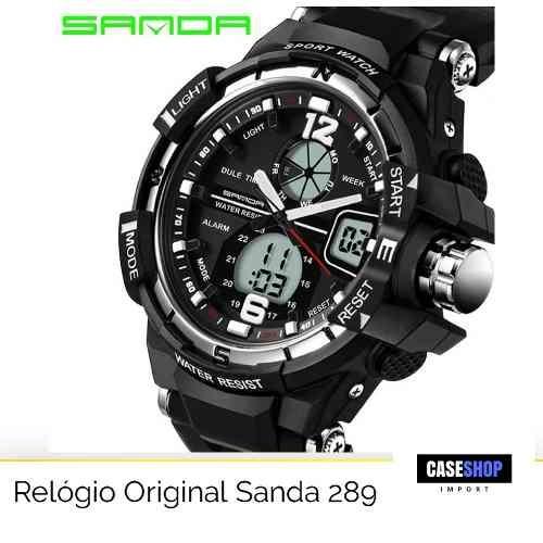 1adf5608fc4 Relógio Masculino Digital Esporte Prova D Água Militar - R  92