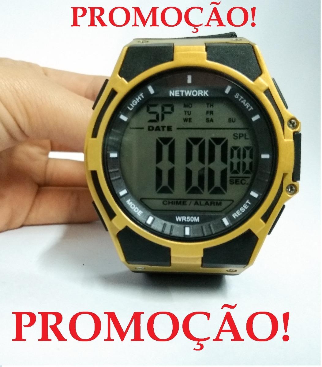 3a27f1f4856 relógio masculino digital esporte resistente água  barato . Carregando zoom.