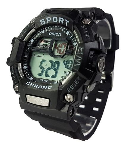 relógio masculino digital esportivo a prova d'água original