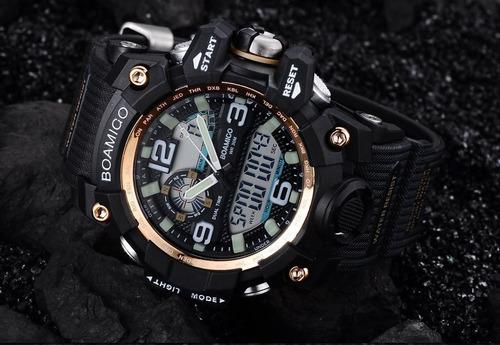 relógio masculino digital esportivo militar