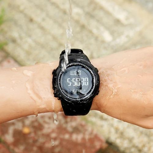 relógio masculino digital esportivo prova d'água skmei 1251