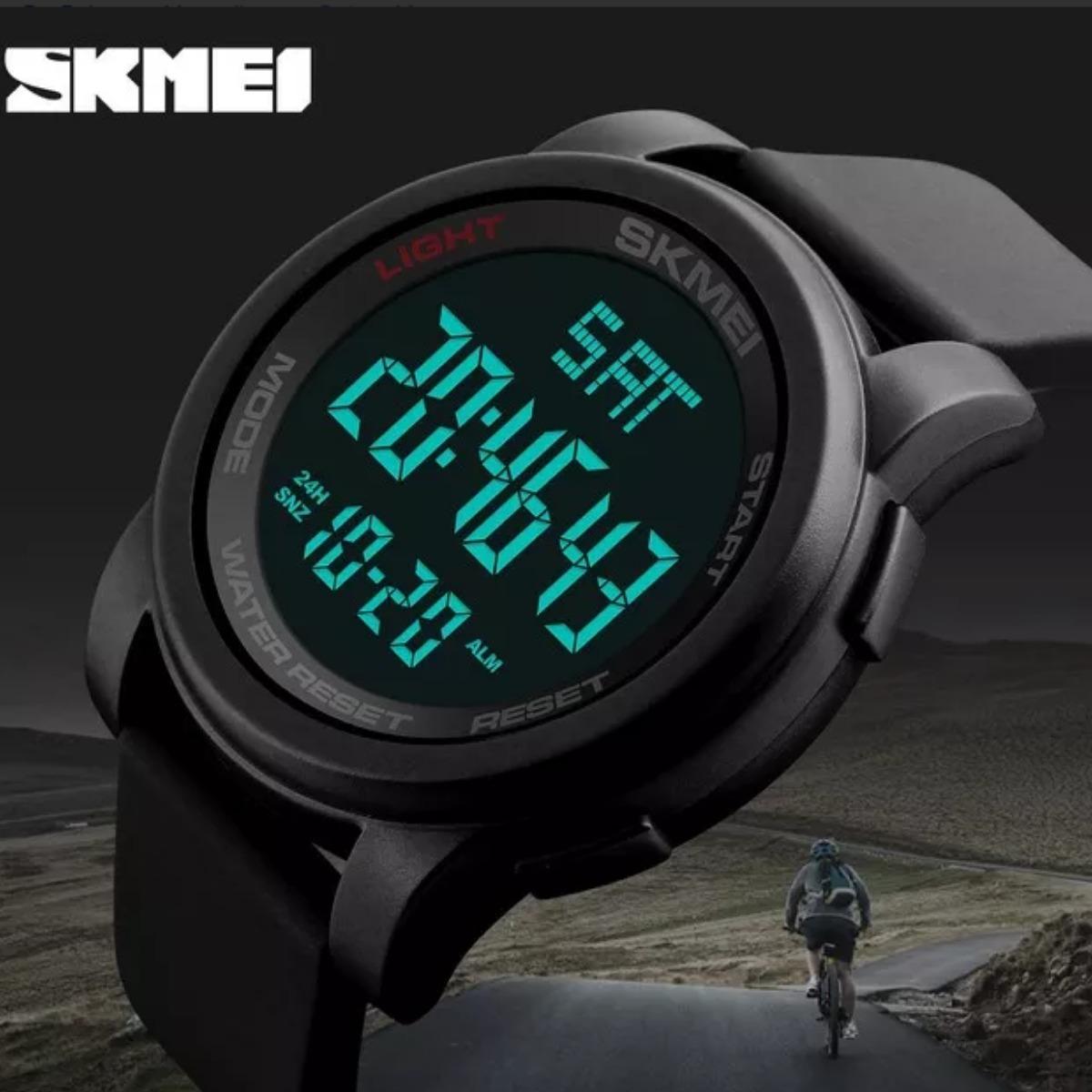 cf6eaeb6f0e relógio masculino digital esportivo prova d água skmei 1257. Carregando zoom .