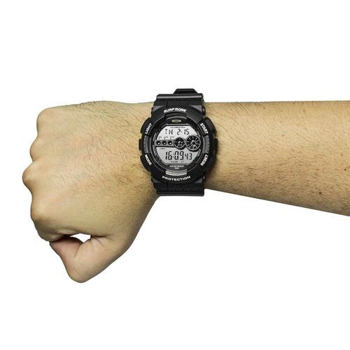 relógio masculino digital esportivo surf more 4011491m nf-e