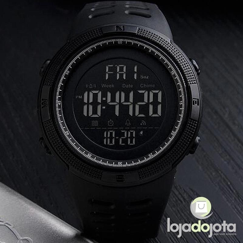 8abf6c227af relógio masculino digital led 1251 a prova dágua - skmei. Carregando zoom.