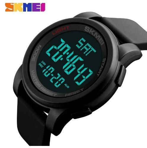 0c12771f29e Relógio Masculino Digital Led Esportivo Skmei 1257 Original - R  49 ...