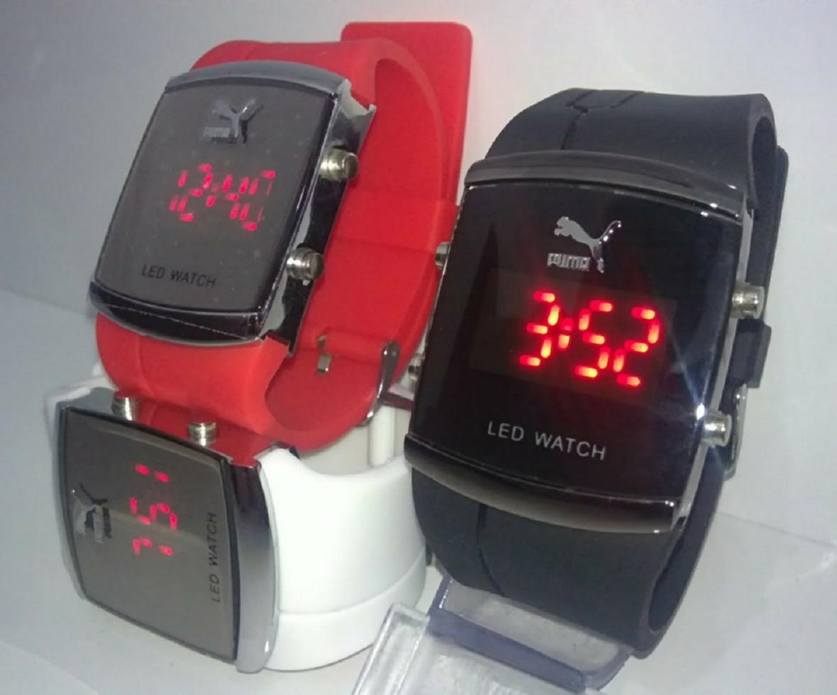 aeb22f9902f Relógio Masculino Digital Led Kit 10 Unidades Barato - R  129