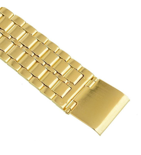 relogio masculino digital multi funcional - relogio dourado