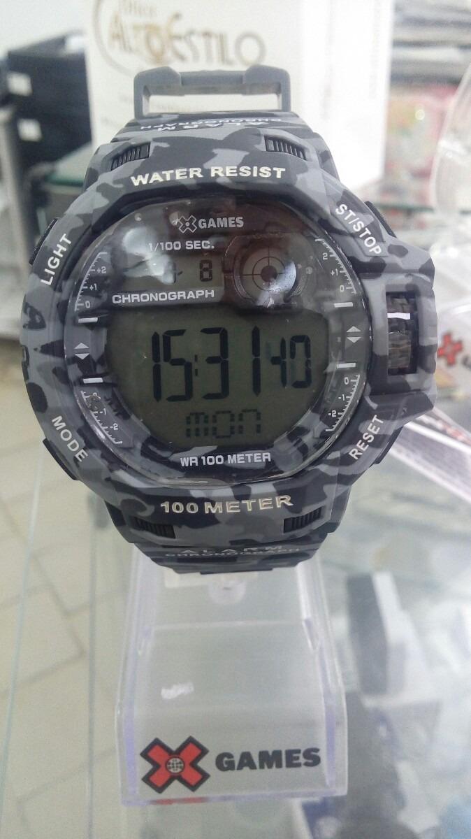 24a85548691 relógio masculino digital orient x-games - camuflado lançame. Carregando  zoom.
