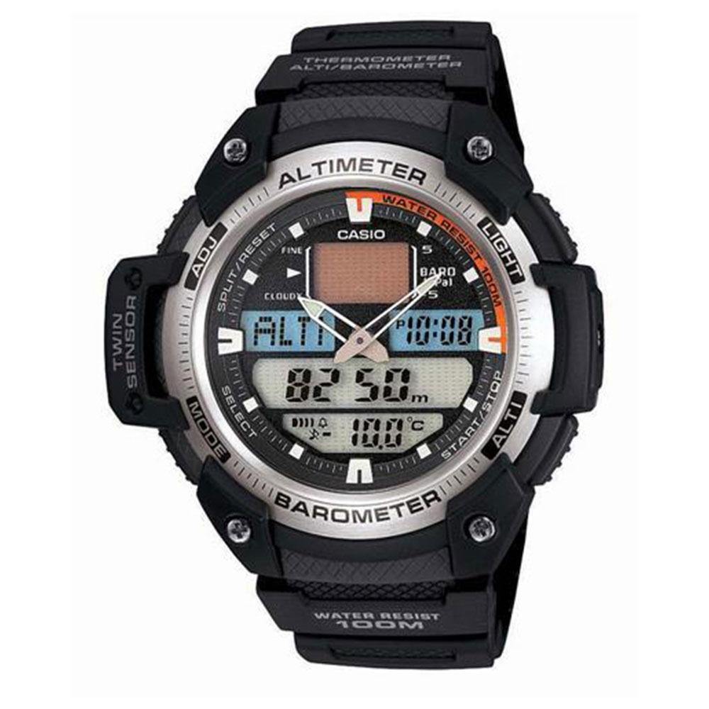 043a482f18b Relógio Masculino Digital Preto Casio Sgw400h1bvdr - R  721