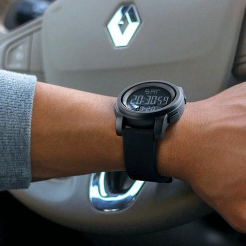 relógio masculino digital prova d'agua com cronometro