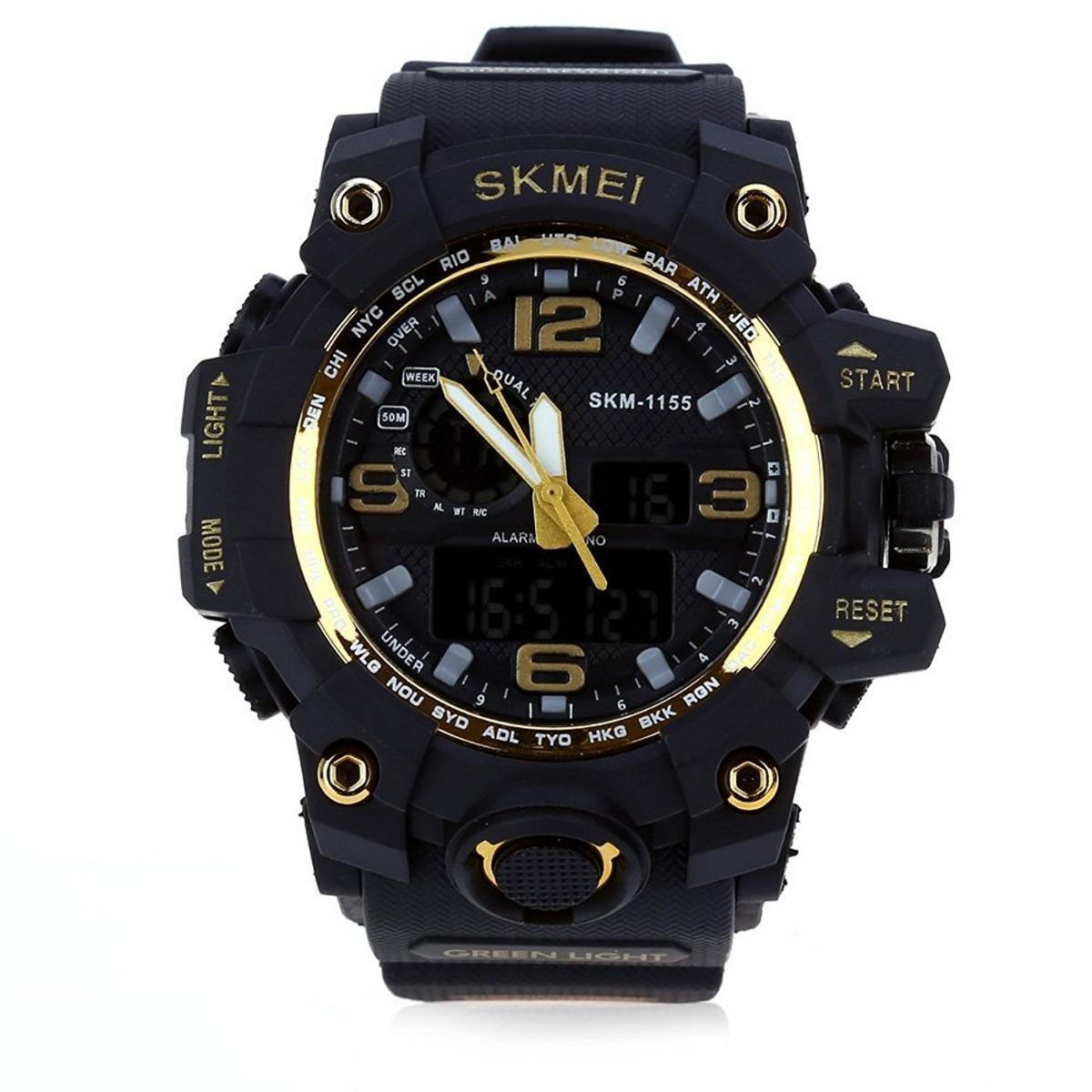 38d3ddd563f relógio masculino digital quartz estilo g-shock militar. Carregando zoom.