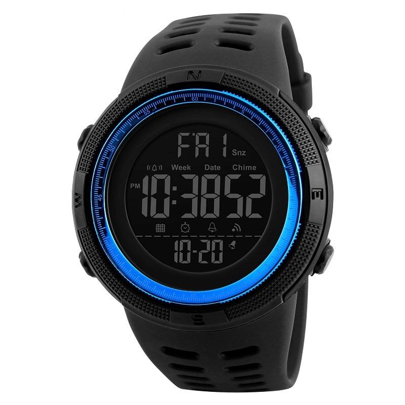 1a851dd1f5e Relógio Masculino Digital Silicone Skmei 1251 Prova D´água. - R  73 ...