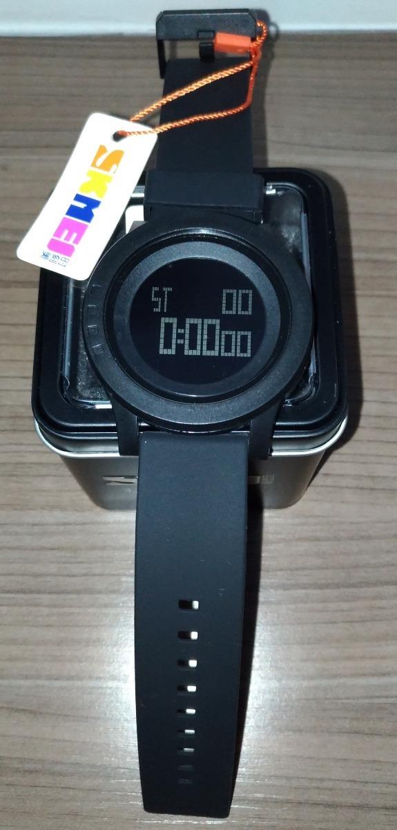 546a11f015e relógio masculino digital skmei 5atm pulseira silicone. Carregando zoom.
