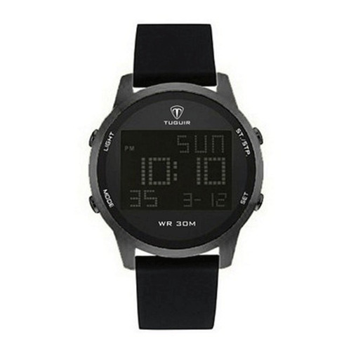 relógio masculino digital tg7003 preto tuguir
