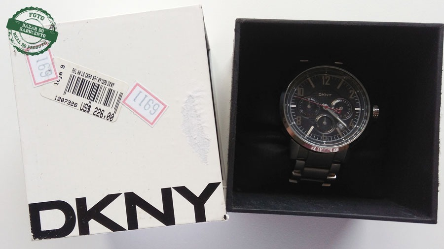 5985c564c89 relógio masculino dkny ny 1326 original. Carregando zoom.
