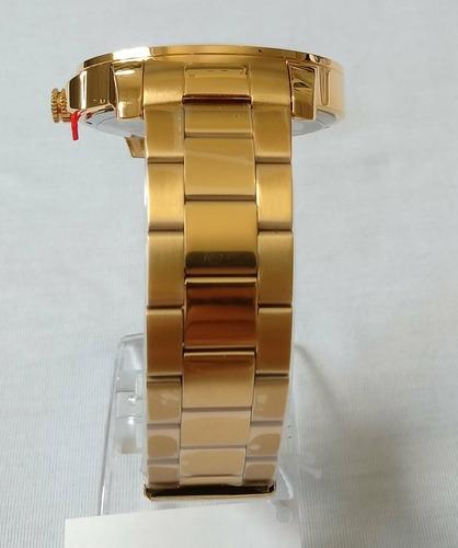 relogio masculino dourado condor original ref-co2115yb/4p.