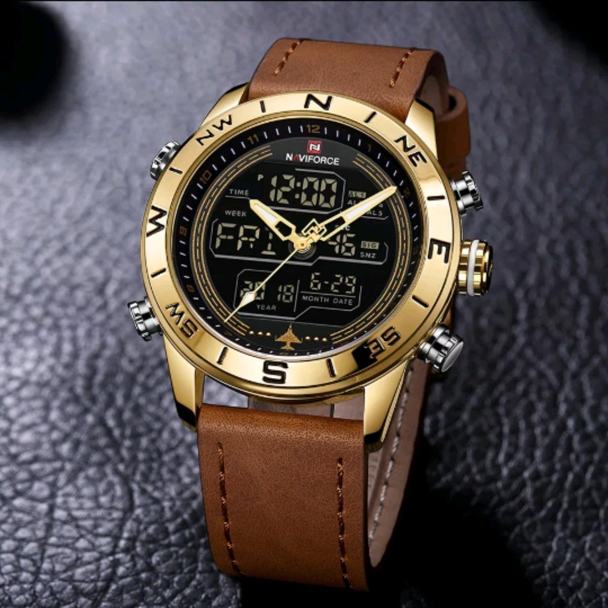 6b13f6e3785 relogio masculino dourado digital barato a pronta entrega. Carregando zoom.