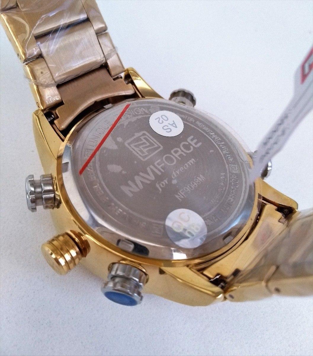 e48f8f11e1a relógio masculino dourado- digital analógico- aço inoxidável. Carregando  zoom.