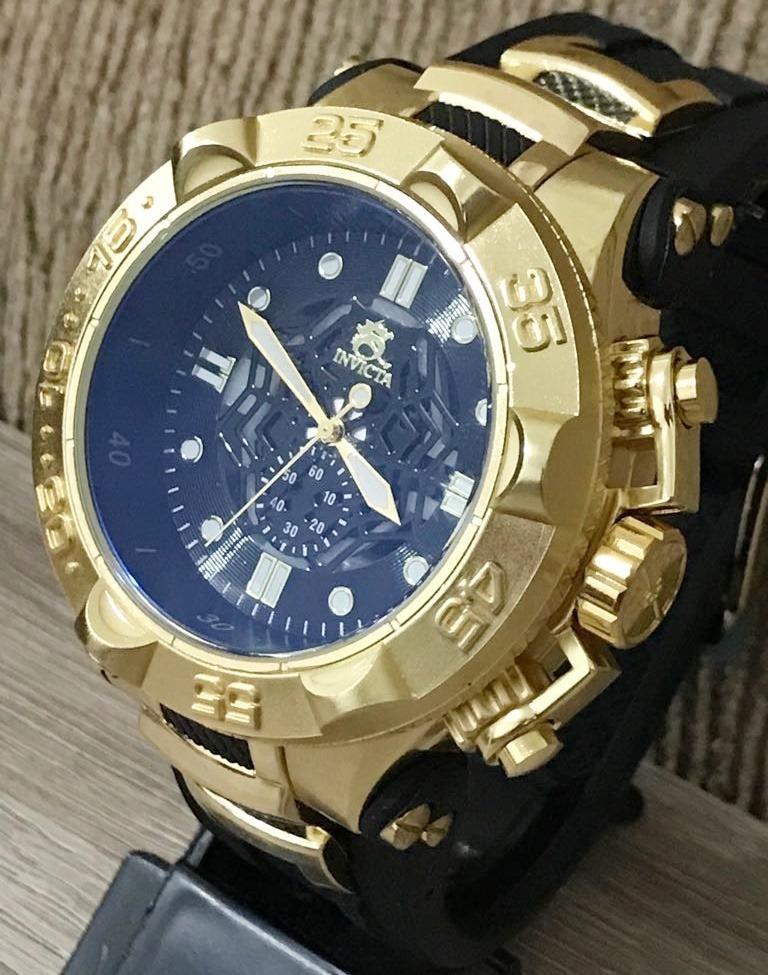 f6ad6644bdb relógio masculino dourado pesado promoção barato atacado. Carregando zoom.