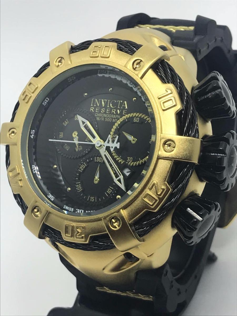 bce75dbec9b relógio masculino dourado prata barato aço pesado importado. Carregando  zoom.