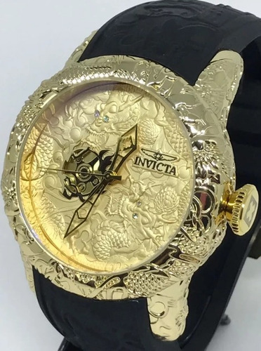 relógio masculino dourado prata barato aço pesado mc