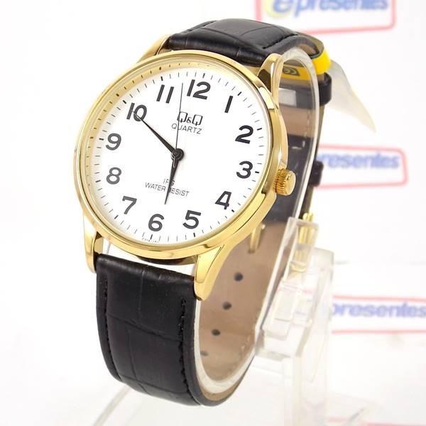 91637a85986 Relógio Masculino Dourado Pulseira Couro Preto C214j104y Q q - R ...