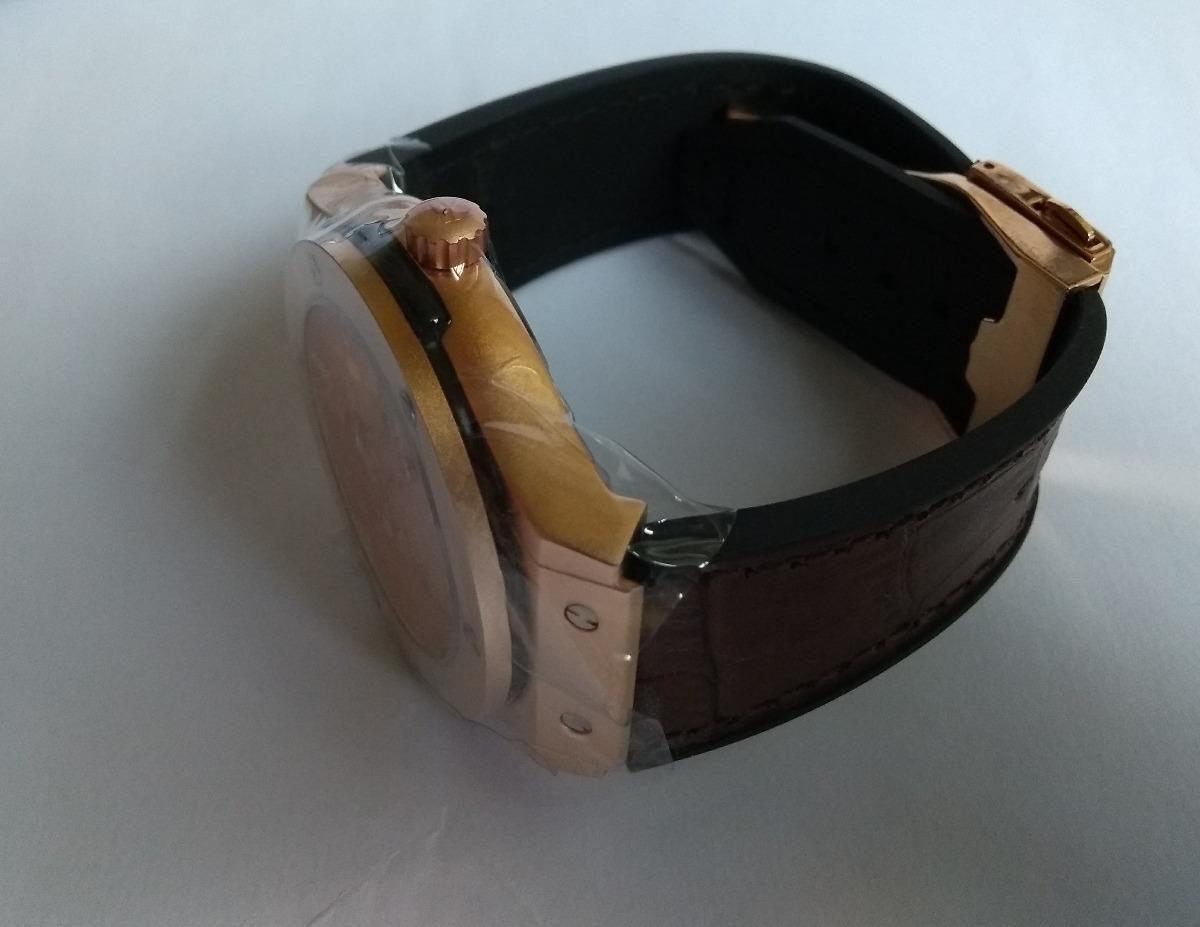 df4ae91125e Relógio Masculino Dourado Social Homens Chiques + Frete - R  120